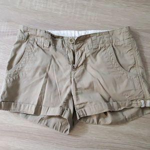 Khaki Nike shorts